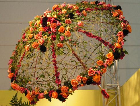 Оригинальная цветочная композиция своими руками